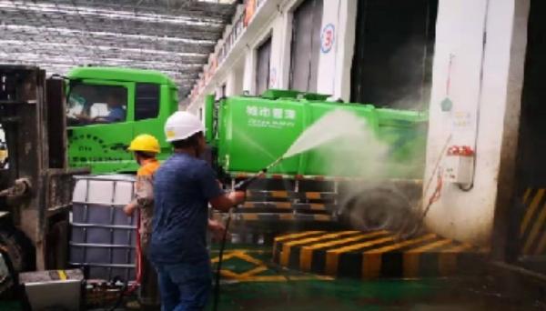 合民牌微生物除臭液DEO-MW型在垃圾发电厂除臭中的应用