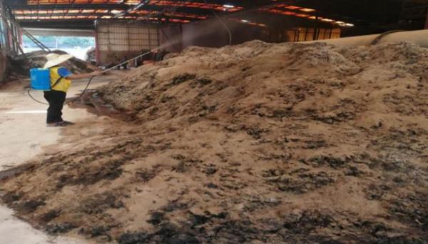 合民牌微生物VOCs去除液DEO-IN型在某肉粉油脂厂除臭中的应用